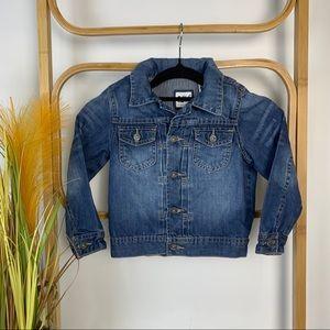Osh Kosh denim jacket size 4 kids winter trendy